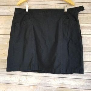 Dockers Women's Skirt/Skort  Sz L Black